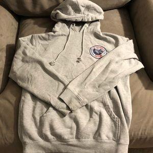 Grey vans hoodie